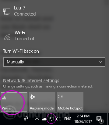 bat wifi win 10
