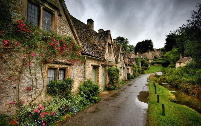 Thị trấn Bibury, Anh Quốc