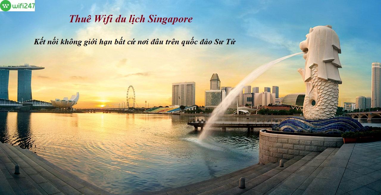 thuê wifi đi Singapore